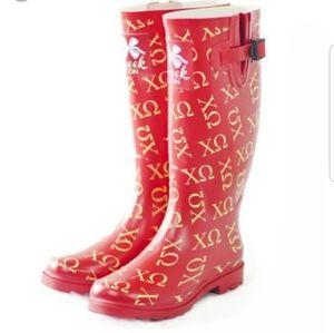 Shoes - Chi Omega Rain Boots